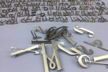 Изготовление буквы из латуни (матовые)